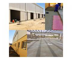 For sale 4 warehouses
