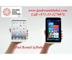 Call +971-55-5279076 for iPad Hire @ Dubai