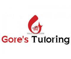 British council AS A level student tuition services at Gore's dubai