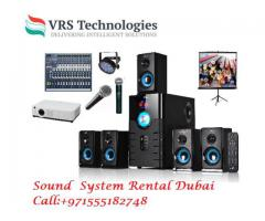 Speakers Rental Dubai - Speakers Rental Service in Dubai