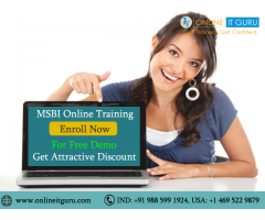 MSBI Online Training with Live Project support