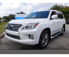 I want to sell My 2015 Lexus Lx 570 SUV