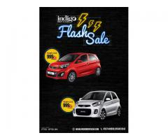 INDIGO RENT A CAR - FLASH SALE OFFER