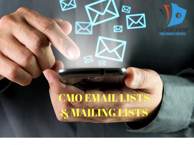 Chief Marketing Officer email list