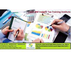 Join Direct and Indirect Taxation Training in Delhi