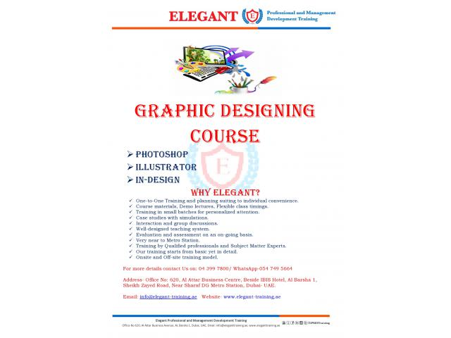 Graphic Designing Course in the Market!