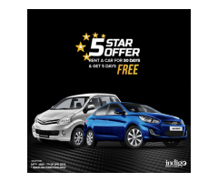 INDIGO RENT A CAR-5 STAR OFFER!!!