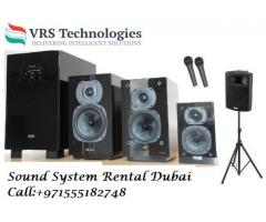Speakers Rental Dubai - Speaker Rental in Dubai