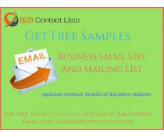 B2B Email Lists | USA  Business Email Lists |