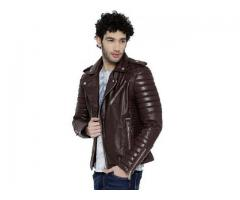 Biker Jacket | Brown Leather Jacket