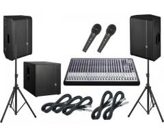 Sound System Rental - Sound System for Rent,Lease Dubai