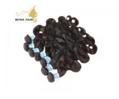 top quality virgin human hair extensions