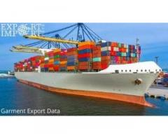 100% updated Garment Export Data with Demo