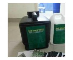 Defaced currencies cleaning solution and anti virus spray for sale